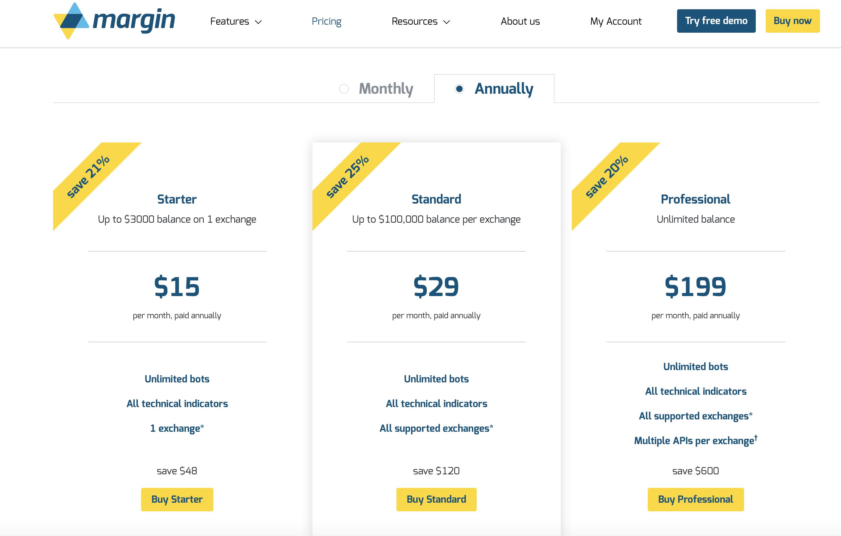 margin - Bitcoin Trading Bot: Binance, Bittrex, HitBTC